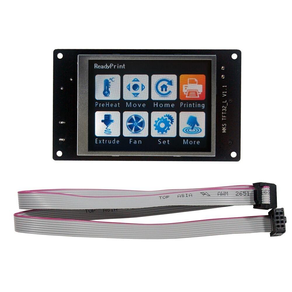 MKS base imprimante 3D 32bit bras plate-forme lisse carte de contrôle MKS SBASE V1.3 + MKS TFT32 3.2 ''écran tactile LCD - 2