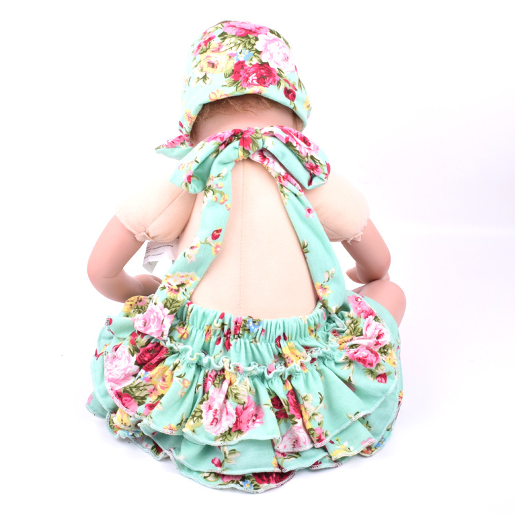 4cd24c6cd307 2017 Summer Baby Rompers Girls Cotton Flower Printed Bubble Romper Matching Headband  Kids Jumpsuit Infant Baby Clothing Outfit-in Rompers from Mother   Kids ...