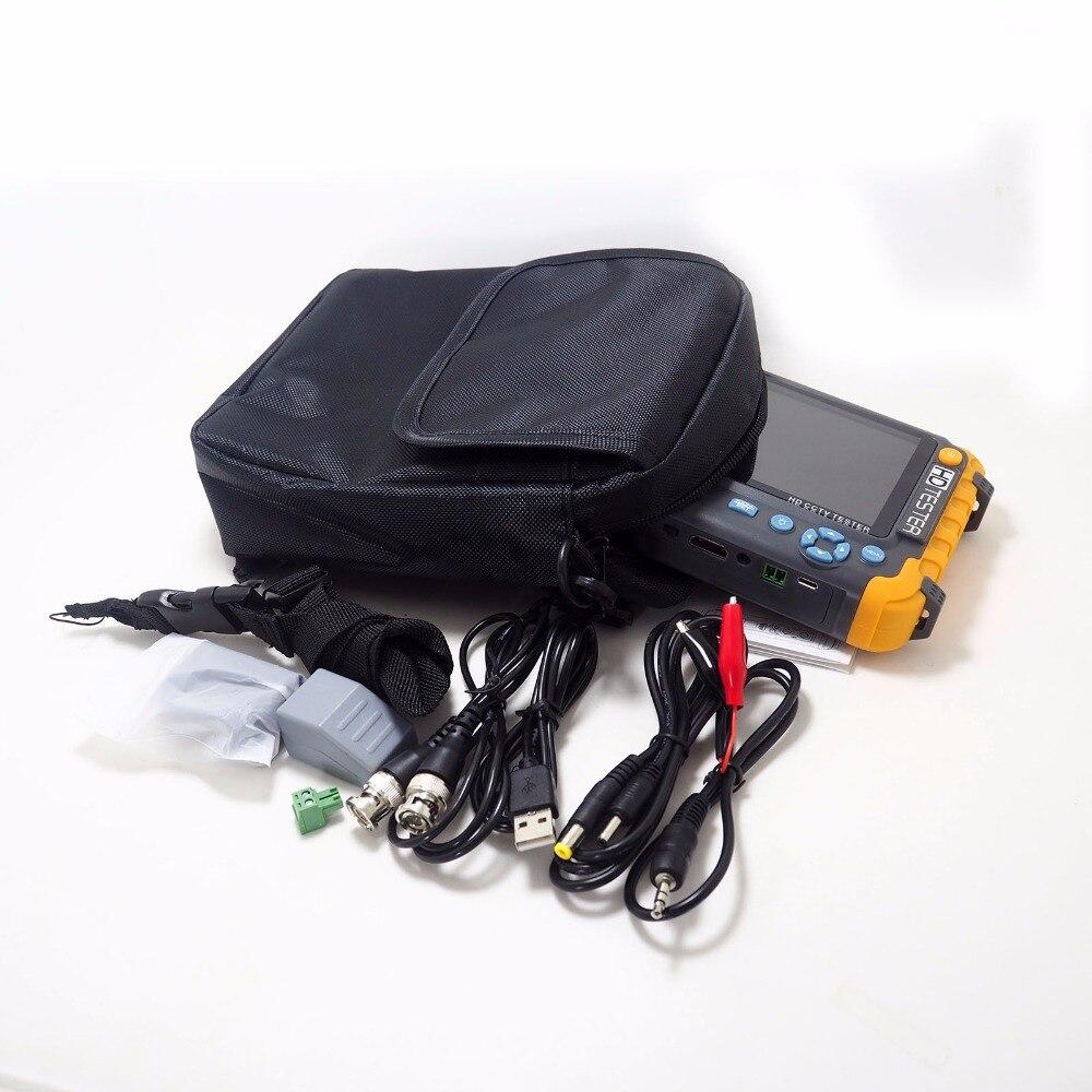 2020superventas 5 pulgadas Tft Lcd Hd 5Mp Tvi Ahd Cvi Cvbs cámara de seguridad analógica probador Monitor en un Cctv probador Vga Hdmi entrada lv8w - 5