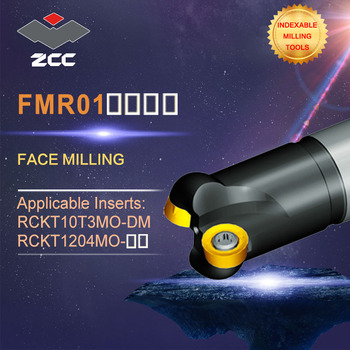 ZCC.CT original face milling cutters FMR01 high performance CNC lathe tools indexable milling tools face milling tools