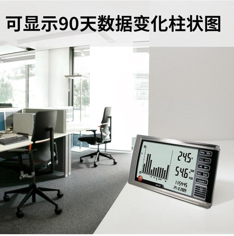 Testo 623 гигрометр Измеритель температуры и влажности, высокая точность с функцией истории, 0560 6230