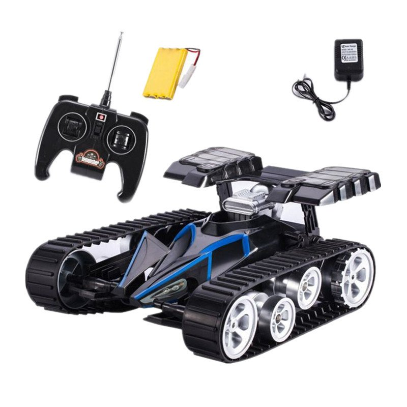 New Arrival RC Tank Infrared Battle Remote Control Rotate Fighting Car High Quality Models Toys for