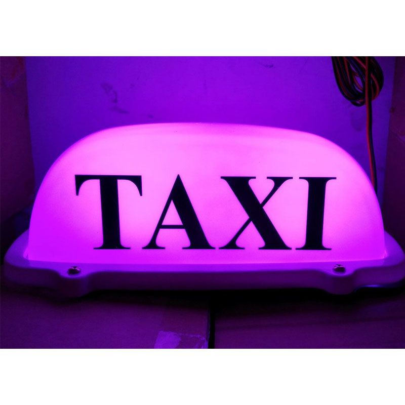 taxi roof light