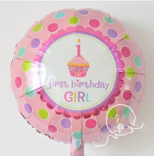 Foil Balloon Large Birthday Candle One Year Old Girl Baby Celebration For Two Pieces In Balloons From Toys Hobbies On Aliexpress
