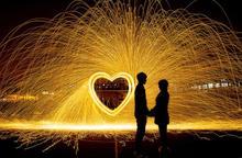 Photography props Steel wool shoot fireworks light painting graffiti Set