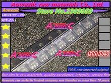 100% novo importado originais LMV331ILT K503 LM431ACM3X N1F LD7550BBL 50 FMMT718TA 718 A-23 EMH53 H53 RN1910FE XK SOT -563