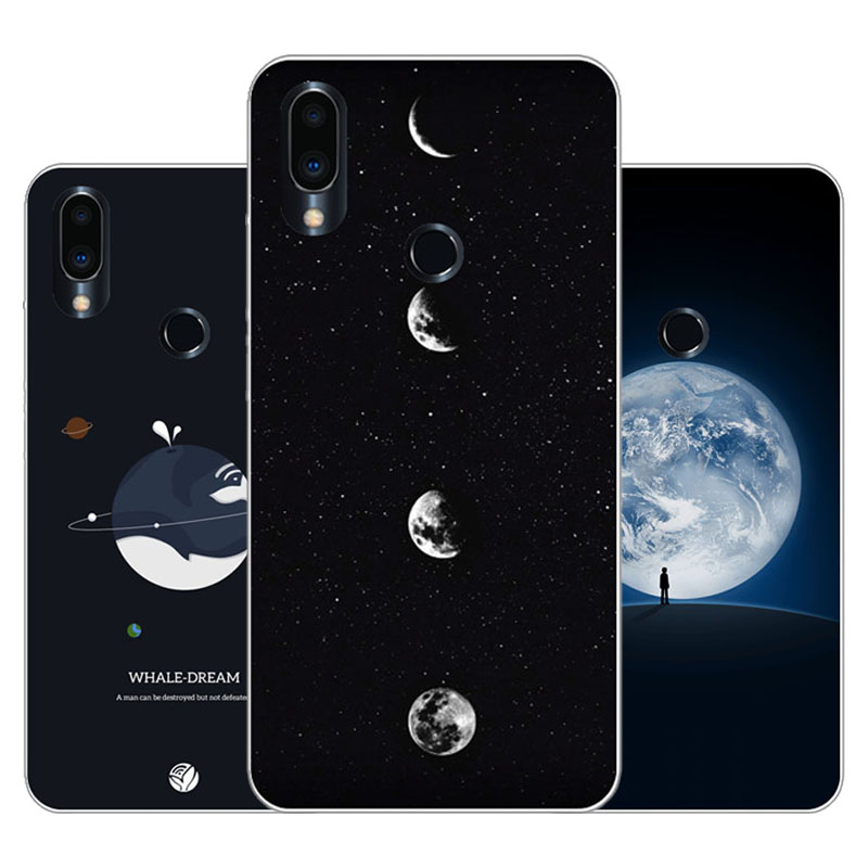 Meizu note 9 Case,Silicon map view Painting Soft TPU Back Cover for Meizu note9 protect Phone cases