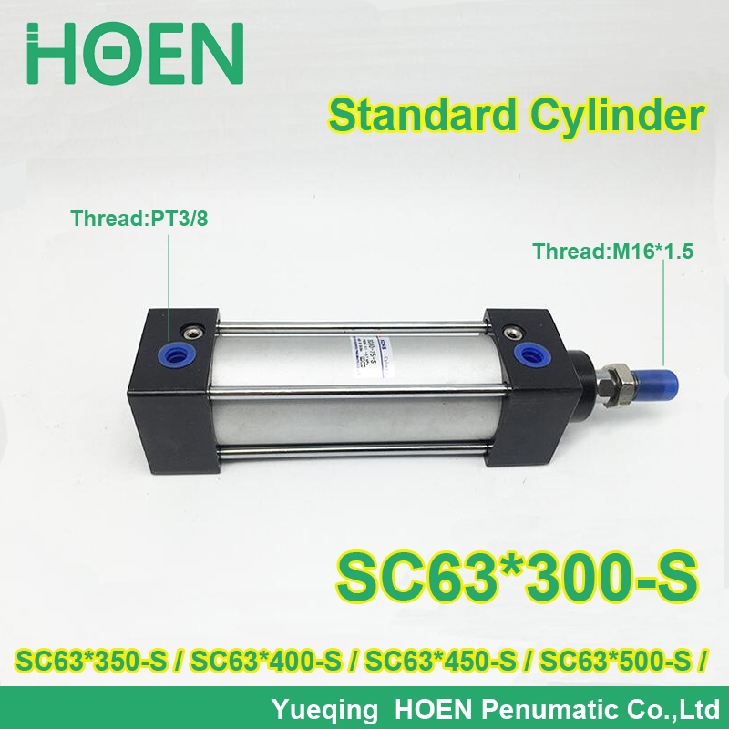 SC63x300-S 63mm bore stroke SC63x350-s standard single rod double action pneumatic cylinder SC SU series SC63X400-S SC63X450-S sc63 400 s 63mm bore 400mm stroke sc63x400 s sc series single rod standard pneumatic air cylinder sc63 400 s