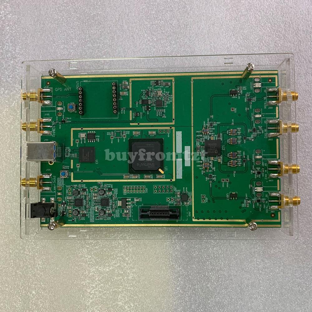 70 MHz a 6 GHz 10DBM Radio definido por Software B210 SDR de Shell acrílico USB3.0 Compatible con USRP B210