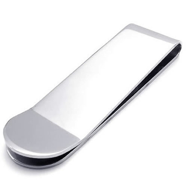 Classic Stainless Steel Money Clip