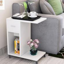 51*30*62 см современный прикроватный столик мобильный диван столик гостиная шкаф для хранения с ящиком и колесами