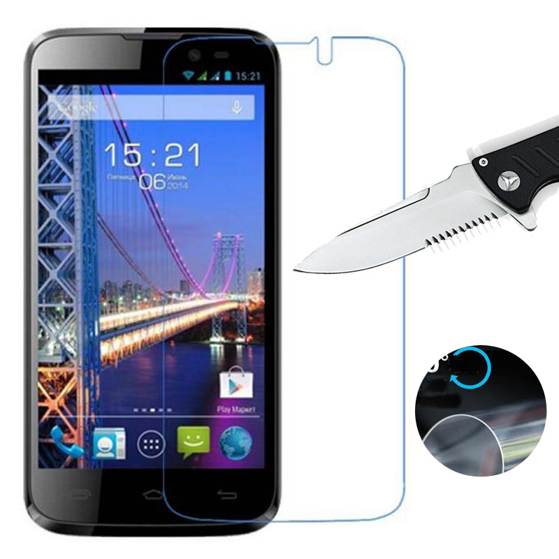 Nano Explosion-proof Soft Clear Screen Protector for For Fly IQ4502 Era Energy 1 Quad / IQ239 New LCD Film (NOT Glass)