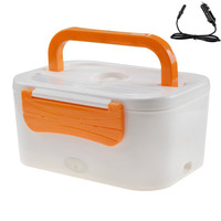 Car Plug Heated Lunch Benton Boxes 12V/220V Electric Heating Thermal Lunchbox Food Warmer Car Truck Stove Oven