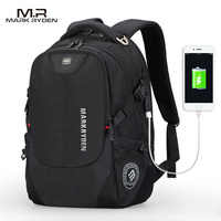 Multifunction USB Charging Men 16inch Laptop Backpacks For Teenager Fashion Male Mochila Leisure Travel Backpack