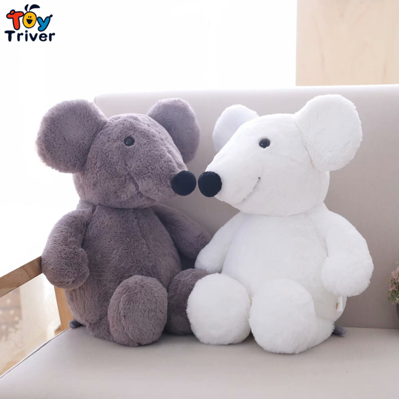 Plush Big Ear Mouse Toy Stuffed Animal Doll Rat Mice Baby Kids Children Birthday Gift Shop Home Decor Drop Shipping Triver