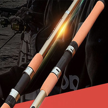 On sale Carbon Fiber Distance Throwing Fishing Rod Telescopic Fishing Rod Fishing Pole Power H 2.1m 2.4m 2.7m 3.0m 3.6m Fishing Tackle