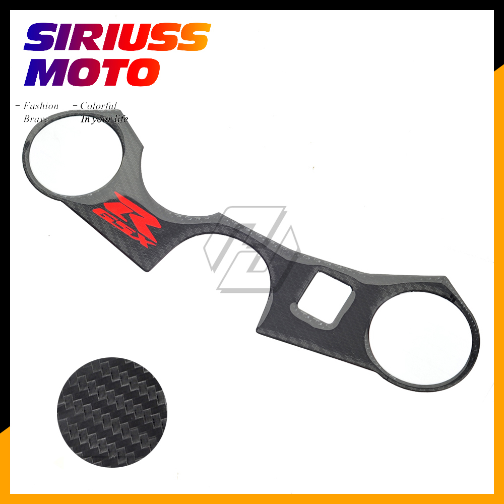 US $6 24 12% OFF|Motorcycle Decal Pad Triple Tree Top Clamp Upper Front End  for Suzuki GSXR600 GSXR750 GSXR 600 GSXR 750 K6 K8 2006 2010-in Decals &
