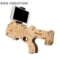 2017 Newest Portable AR Gun Augmented Reality Gaming Gun Support Smartphone Shooting Games DIY Toy Gun