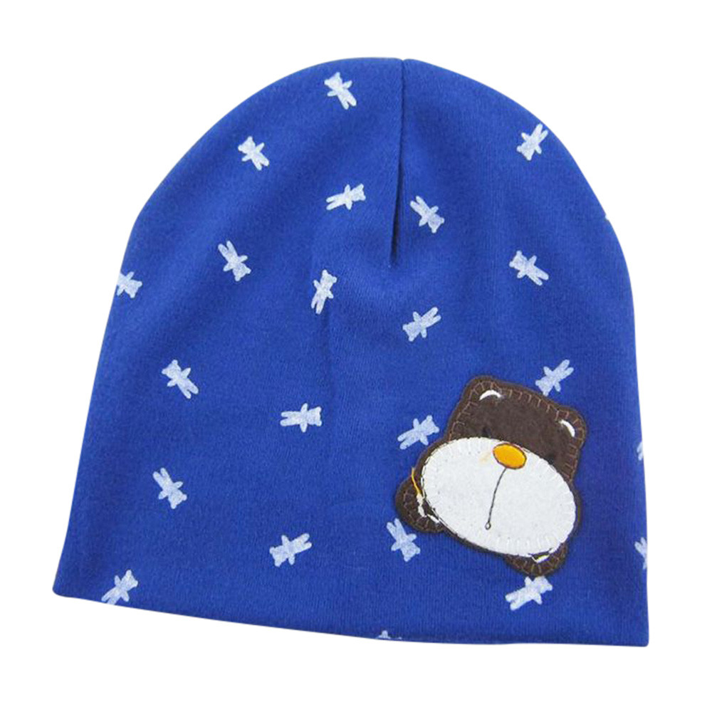 Cartoon Baby Beanie For Boys Girls  Hat Children Winter Hats  6 months -4 years old Baby Casual Cotton Hats