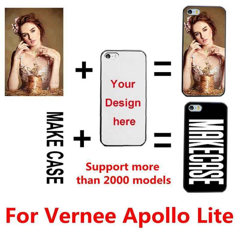 DIY personalizado nombre de la foto personalizar impresión de su funda de la imagen del diseño para Vernee Apollo Lite/X