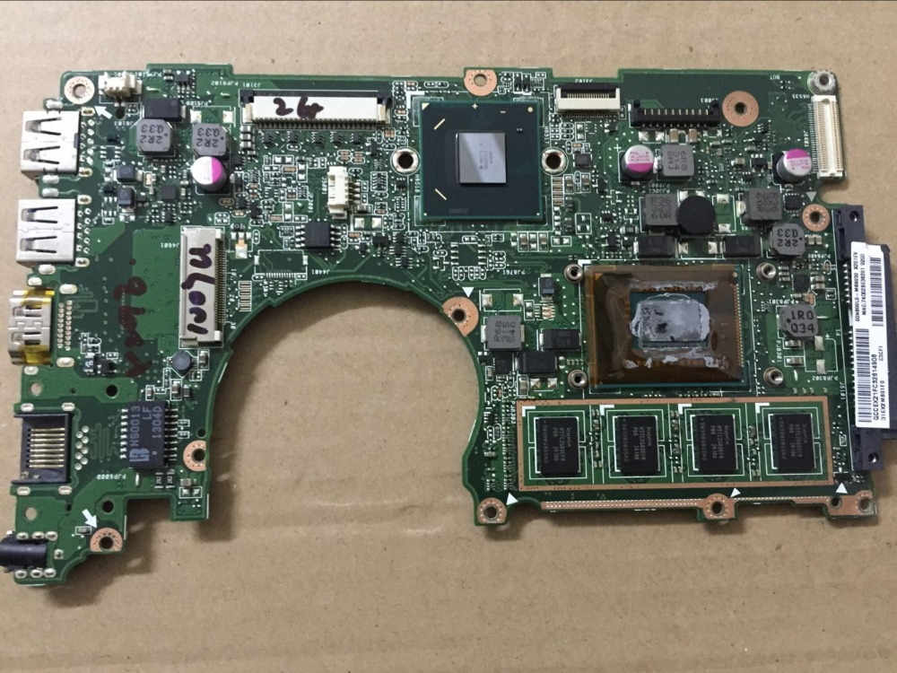 Free shipping X202E motherboard For X201E X202E laptop motherboard S200E i3-2365 60-NFQMB1800-B04 100%Tested x50rl laptop motherboard for asus ddr2 100% tested free shipping