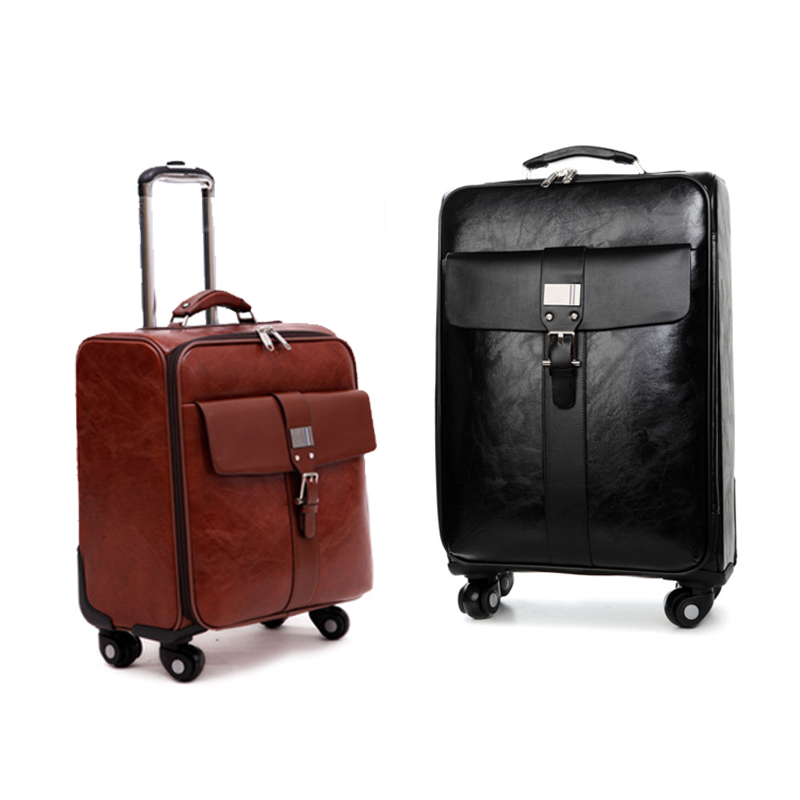 Online Get Cheap Leather Luggage Spinner -Aliexpress.com | Alibaba ...