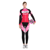 2017 NEW BATFOX Cycling Clothing 3 Color Printing Winter Ropa Ciclismo 80 Polyester 20 Lycra Women