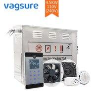 Power Supply AC110 220V 4 5KW Portable Sauna Bathroom Steam Temperature Generator Controller Accessories Shower Cabins