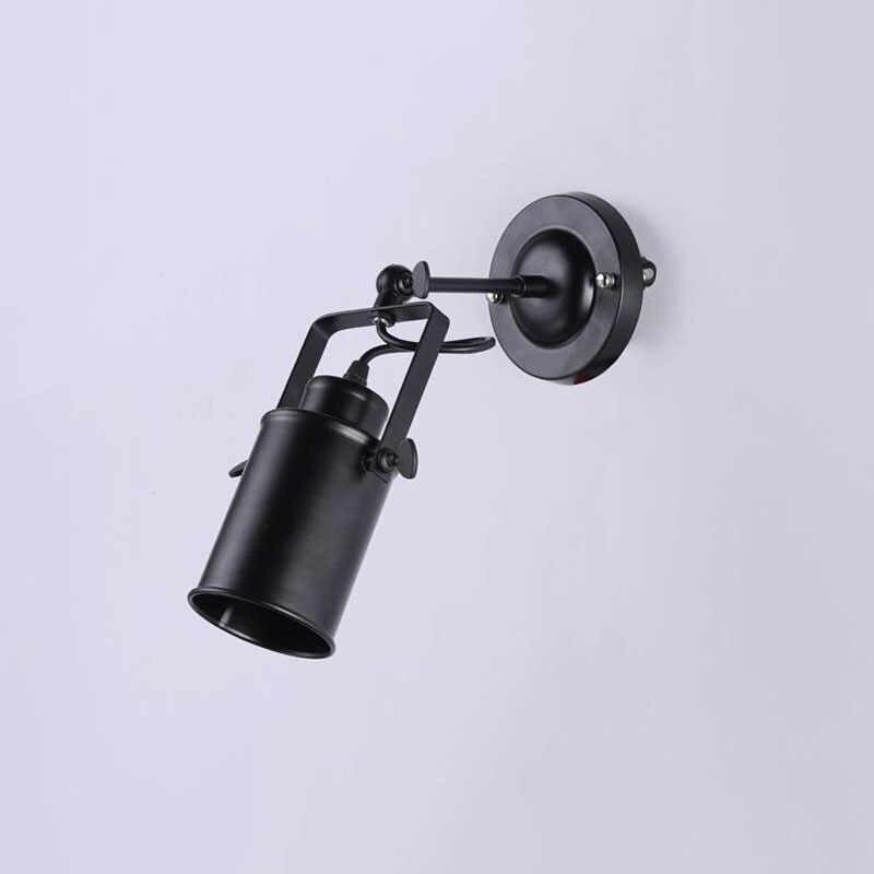 Светодиодный прожекторы Американский Винтаж подвесной светильник в стиле лофт Железный светодиодный светильник E27 прожектор меркантильное освещение для бара/кафе decorat