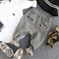 2-9Y 2016 novos meninos outono moda patchwork crianças calça calça crianças bonito pant calças meninos cavalheiro