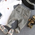 2-9Y new 2016 autumn boys fashion patchwork pant children pant kids handsome pant boys gentleman trousers