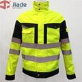 Jiade  рабочая куртка  светоотражающая куртка  куртка с высокой видимостью  водонепроницаемая куртка  водостойкое пальто  бесплатная доставка