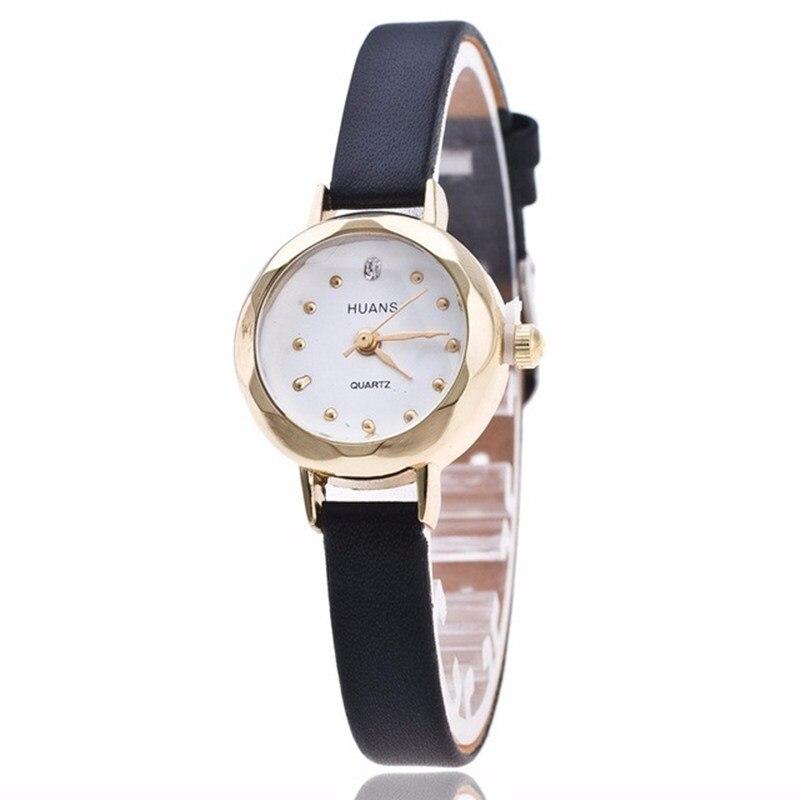 2017 Nuevo Reloj de Moda Elegante Mujeres Pequeño dial Mini Estilo - Relojes para mujeres