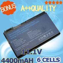 Bateria para Acer 4400 MAH Extensa 5210 5220 5235 5420g 5620g 5620z 5630 5630g 5635 5635g 5635z 7220 7620 7620g Grape32 Grape34