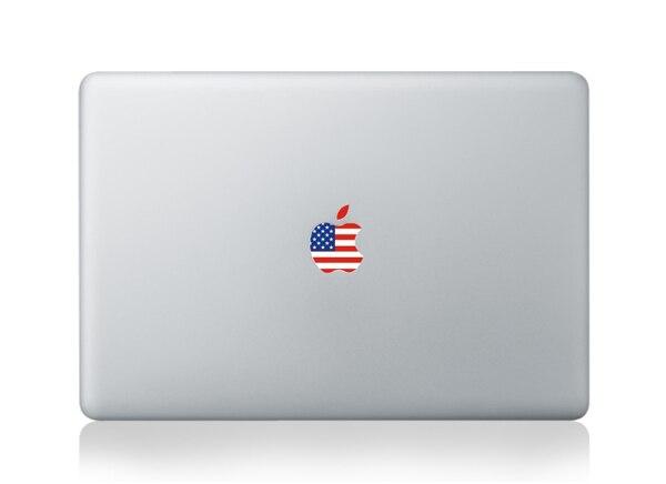 Hot Sale For Apple Logo Sticker Vinyl Decal National Flag