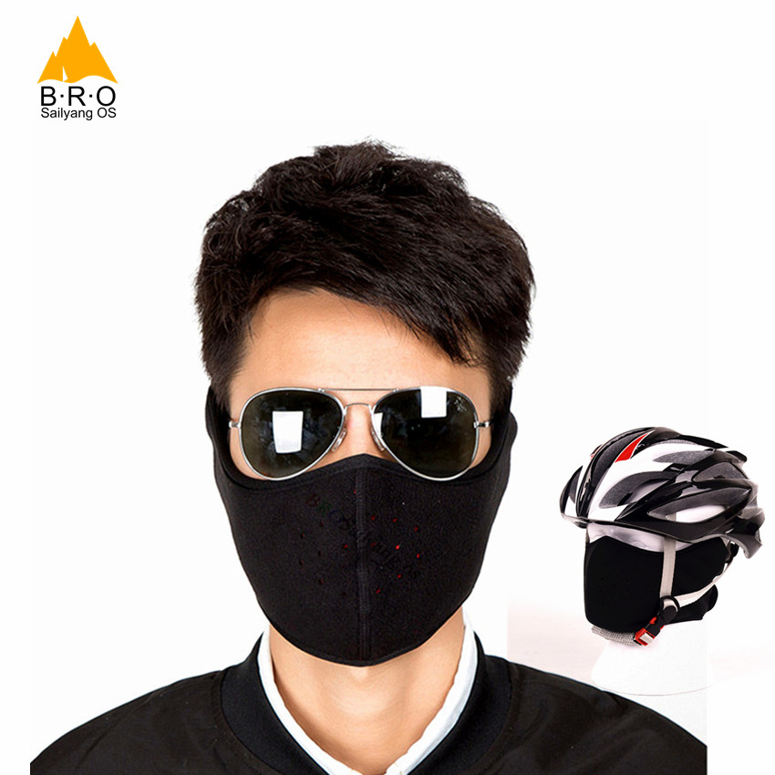 HOT Cycling Masks Ear Protect Men Women Neck Warm Windproof Fleece Bike Face Mask Outdoor Sports Skiing Riding MTB Bicycle Mask tsai winter warm fleece full face cycling mask windproof double layer riding hat multifunction outdoor sport cap for men