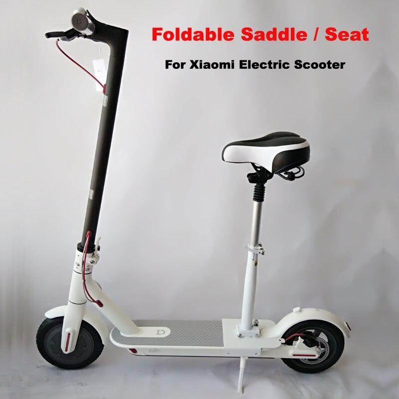 Xiaomi Electric M365 font b Scooter b font Seat Foldable Saddle Shock Absorbing Seat Comfortable Folding