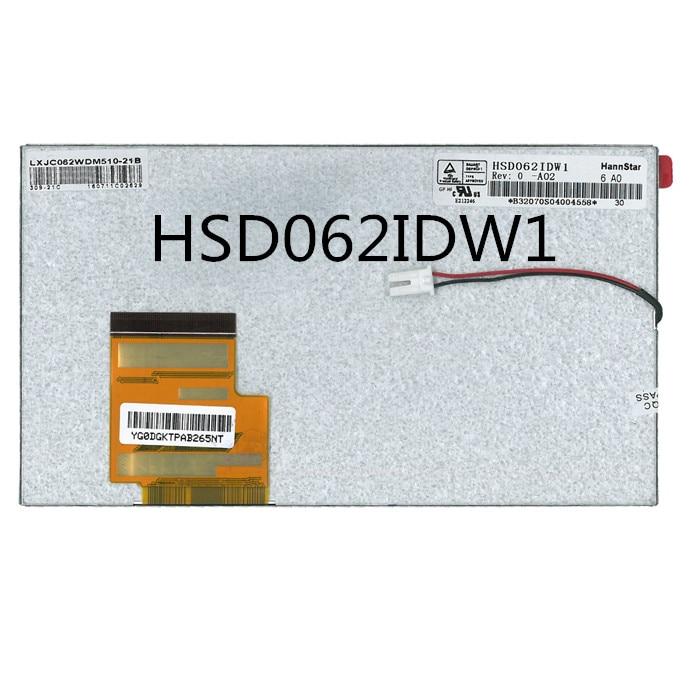 Original 6.2 inch HSD062IDW1 A00 A01 A02 LCD screen car screen Touch screen 10 1 inch 1280 800 hsd101pww1 a00 hsd101pww1 a00 rev 4 tablet pc lcd screen