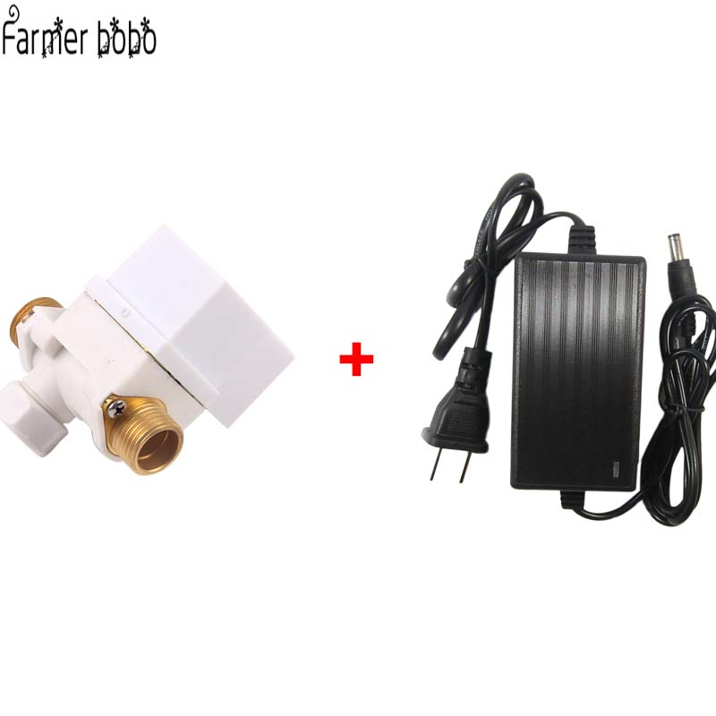 Garden Automatic Solenoid Valve Watering Timer Connected To Garden Controller System High Quality Brass