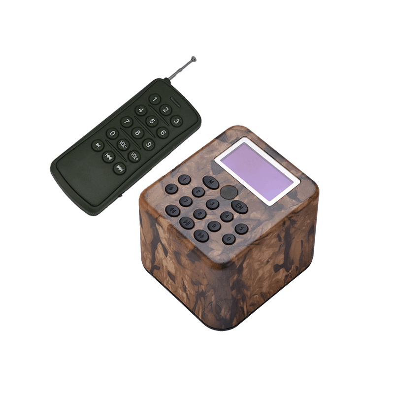 Hunting Decoy Bird Caller Birds Sound Speaker 50W Mp3 Player Built-in 210 Bird Songs with Remote Control Timer Playing