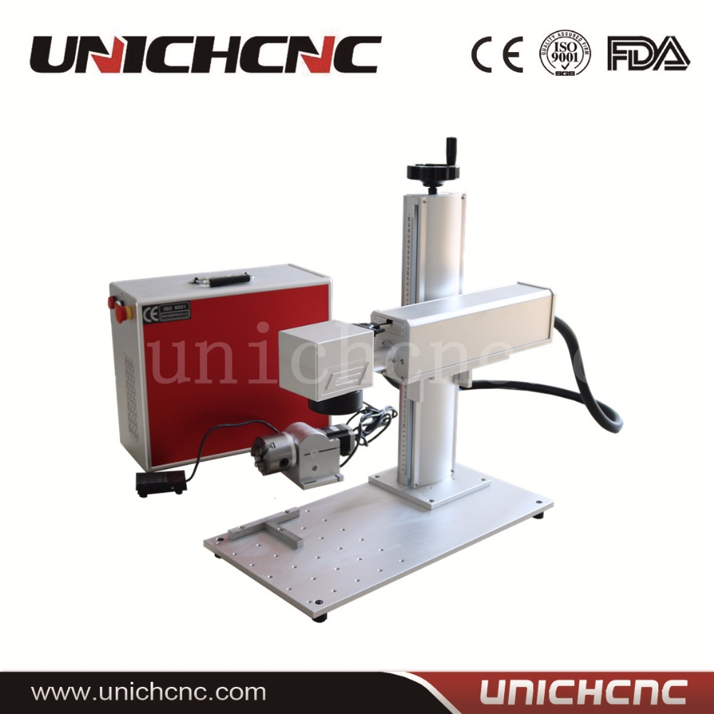 Easy Operation High Steady Portable Fiber Laser Marking Machine