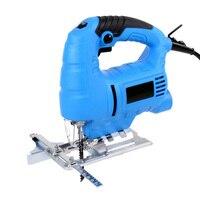 Electric Jig Saw Woodworking 220V 710W Home Manual Jig Saw Motor Tool Serra Circular With 2pcs Saw Blades Power Hand Tools