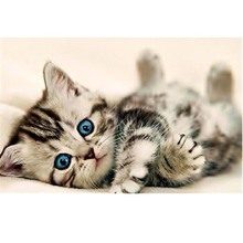 3D Baby Cat DIY Diamond Painting Cross Stitch Embroidery Home Decoration Diy Drill Animal Bar Craft Ornament Picture Decor P10