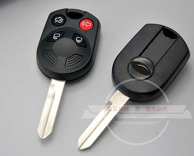 Blank Key Case  Buttons Replace For Ford Raptor Edge Escape Remote Key Shell