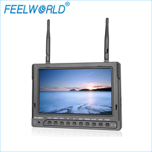 Feelworld FPV732 7 Inch 1024×600 IPS FPV Monitor with Built-in Battery Dual 5.8G 32CH Diversity Receiver Wireless UAV Monitor