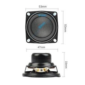 Image 3 - AIYIMA 2 قطعة 2 بوصة مكبر صوت 53 مللي متر المتحدثين مجموعة كاملة باس 4 أوم 10 W الوسائط المتعددة الصوت مكبر الصوت ل DIY