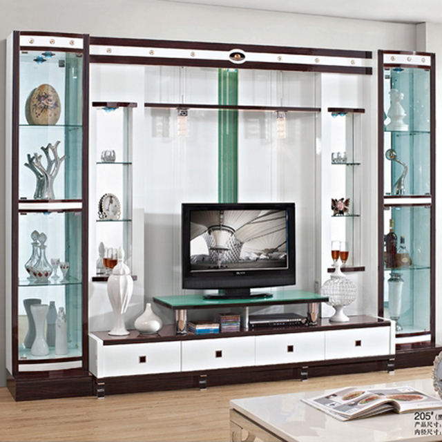 Tv Meubel Hoek Glas.Wandkast Tv Meubel Vpm39 Agneswamu
