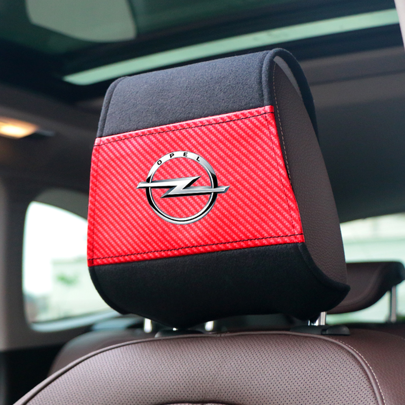 NEW Car headrest cover with Phone Pocket fit for Opel Astra H G J Insignia Mokka Zafira Corsa Vectra C D Antara Car styling-in Car Tax Disc Holders from Automobiles & Motorcycles