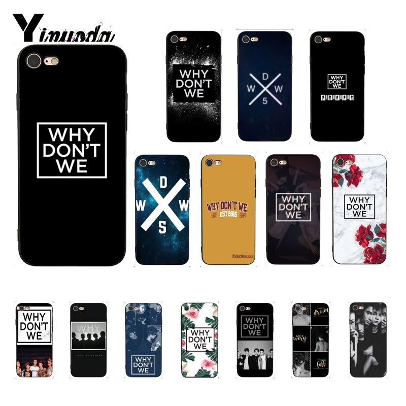 Yinuoda Why dont we Luxury Unique Design <font><b>PhoneCase</b></font> for <font><b>iPhone</b></font> 6S 6plus 7 <font><b>7plus</b></font> 8 8Plus X Xs MAX 5 5S XR image