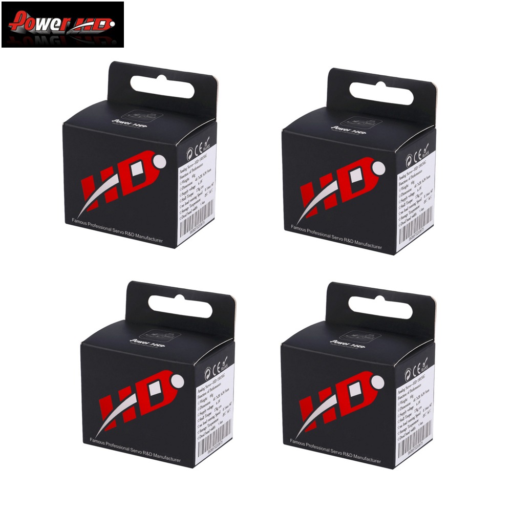 4 unids/lote 100% original de HD de alta par 60G estándar Servo 1501 MG de Metal de 17 KG 0,14 sec 1501 + + envío gratis-in Partes y accesorios from Juguetes y pasatiempos    1